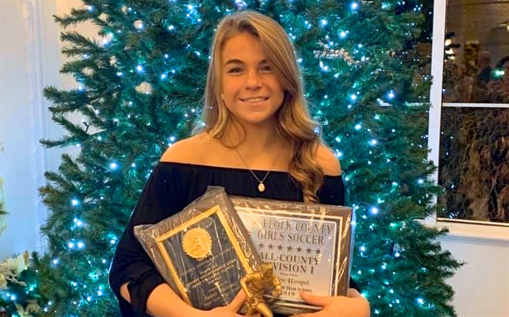 Hampel Named County's Girls Soccer Player of the Year