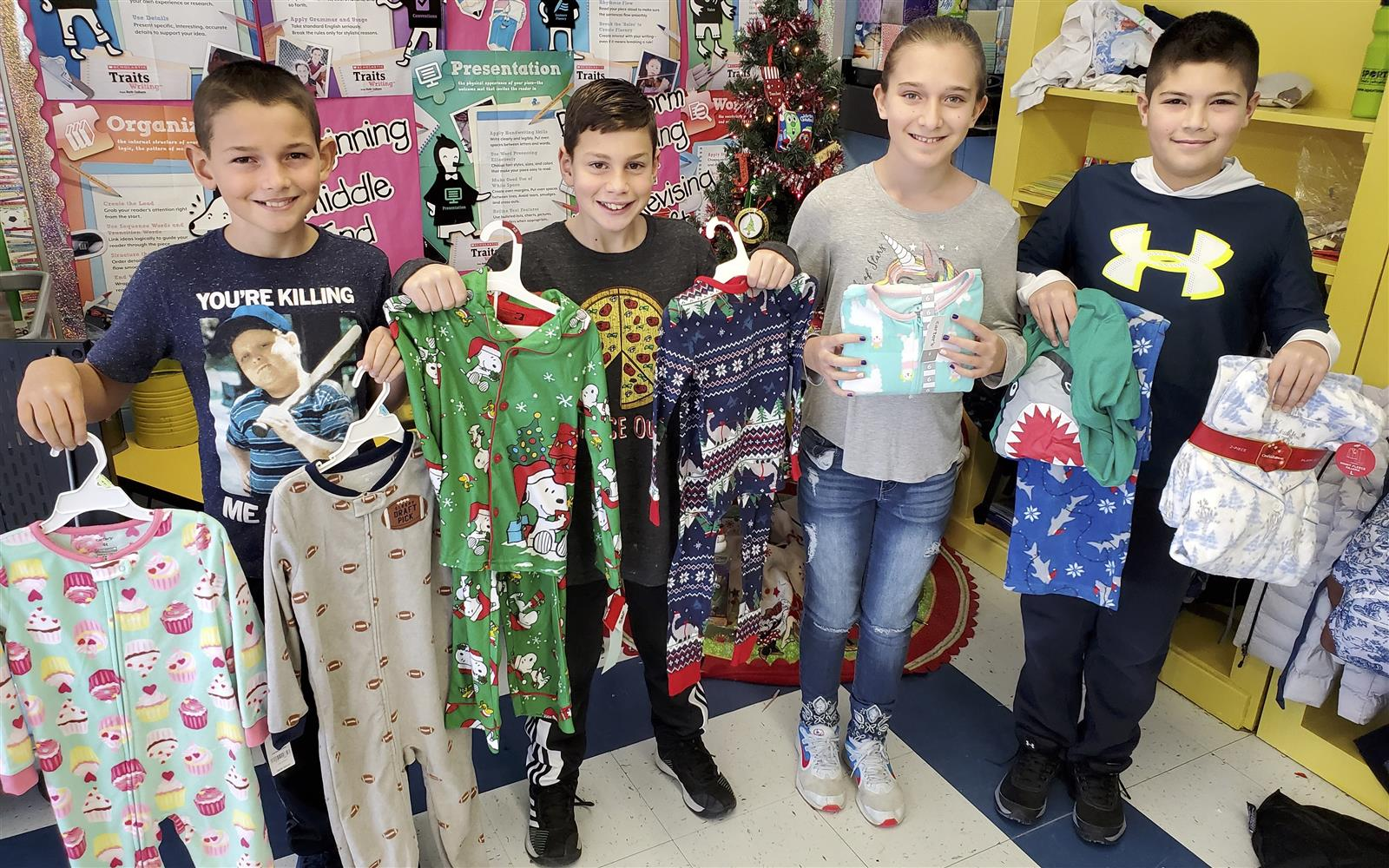 "Bayview Pajama Drive Provides ""Good Nights"" for Needy Children"